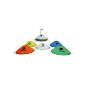 SET DE CONO PLÁSTICO 50 UNIDADES x 5 colores M8606B50