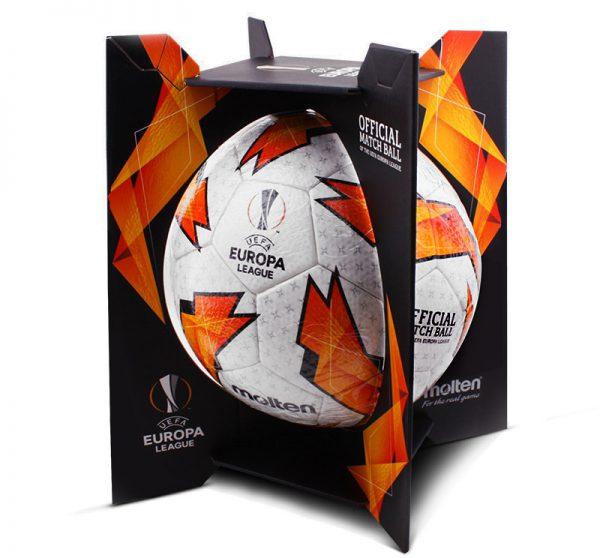 BALÓN PARA FÚTBOL MOLTEN UEFA FIFA APROV F5U5003-G18