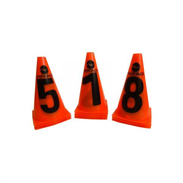 SET DE CONOS NUMÉRICOS DE 23 CM M8605
